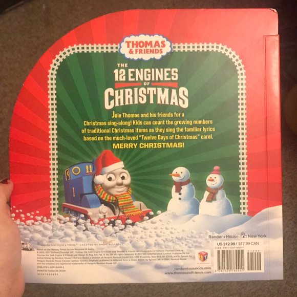 Thomas the Train - 12 Engines of Christmas book